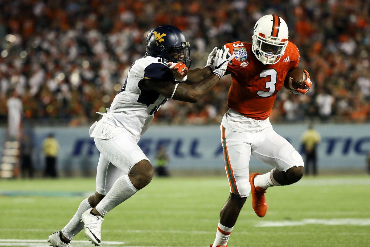 NCAA Football: Russell Athletic Bowl-West Virginia vs Miami