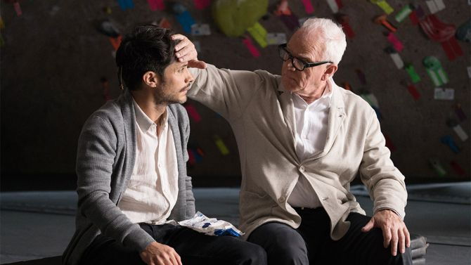 Gael Garcia Bernal and Malcolm McDowell star in Mozart in the Jungle.