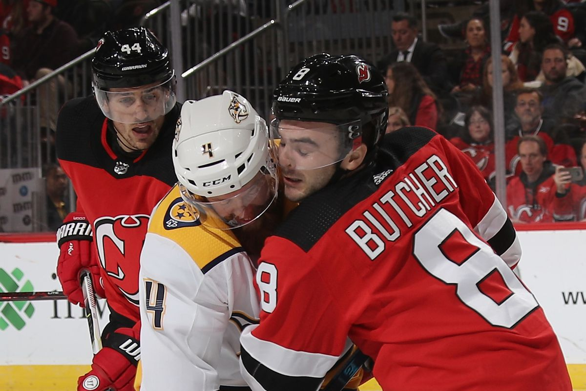 4be432f3f New Jersey Devils Tripped Late by Nashville Predators in OT Loss