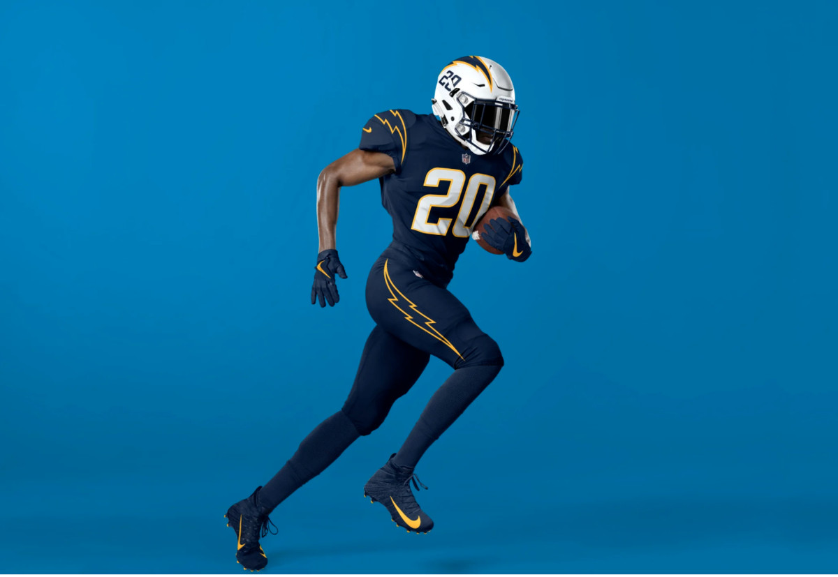 chargers jersey