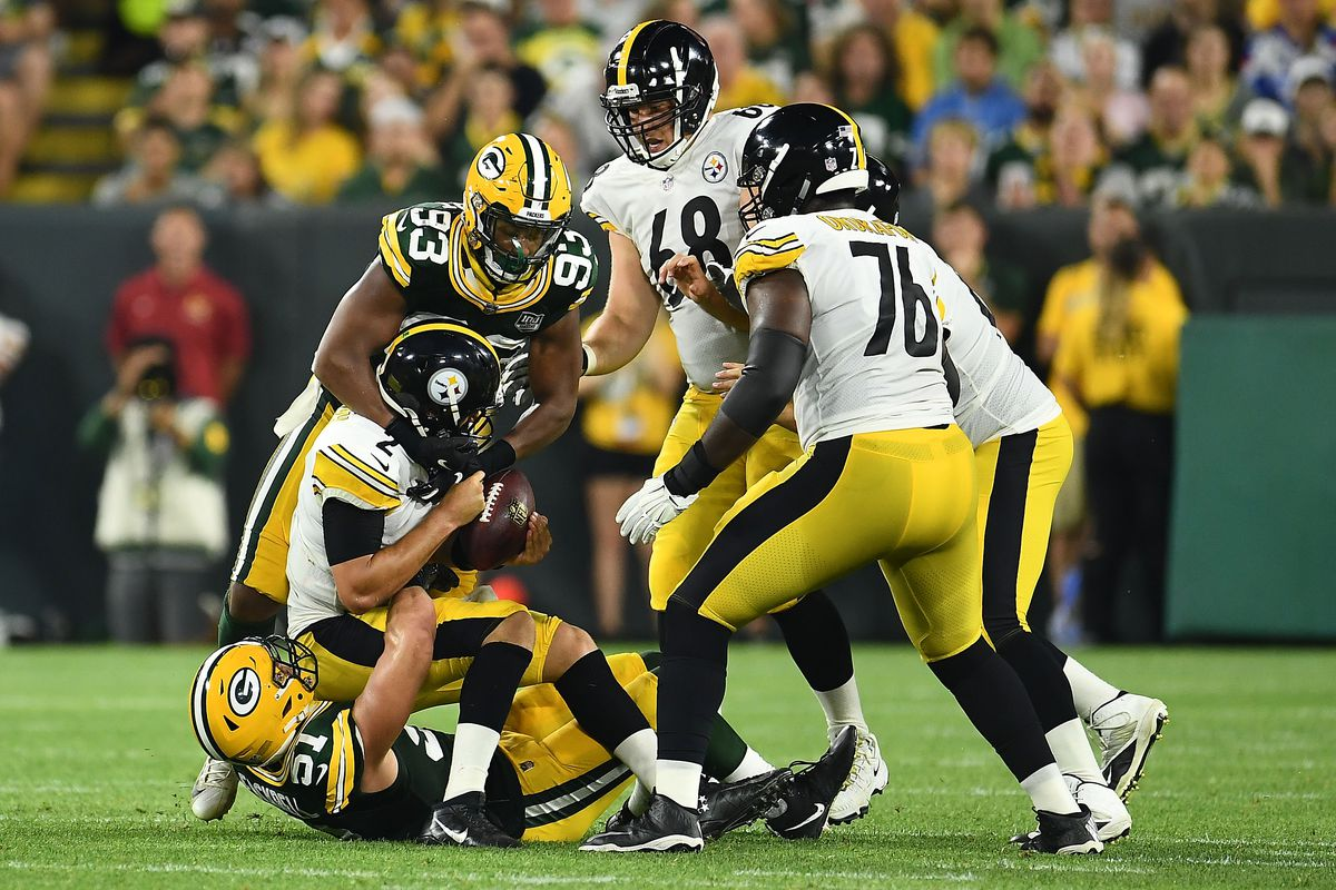 24a72fea0 Steelers  backups stumble as the Packers bounce them out of Green ...
