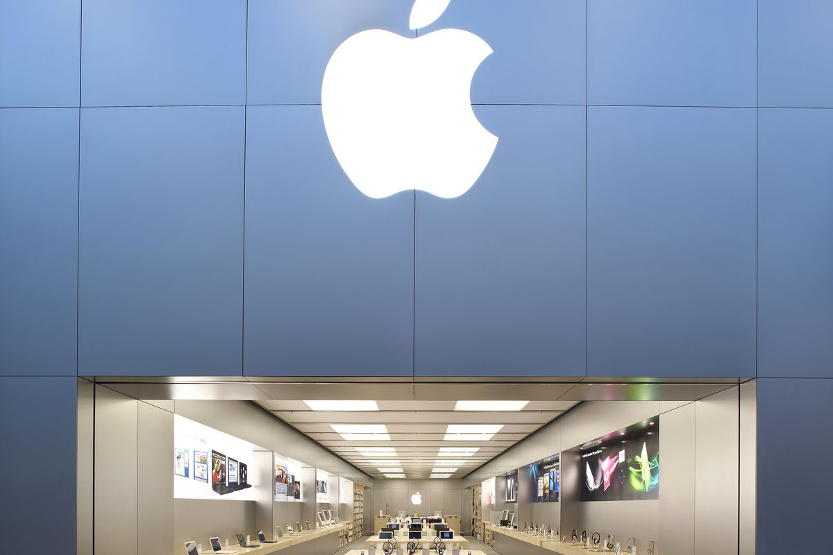 An Apple Store in Manchester, United Kingdom.