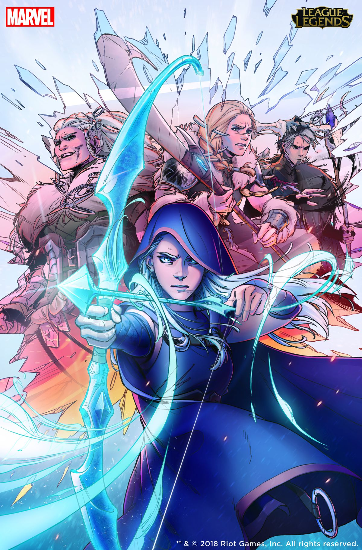 League of Legends turns to Marvel comics to explore the