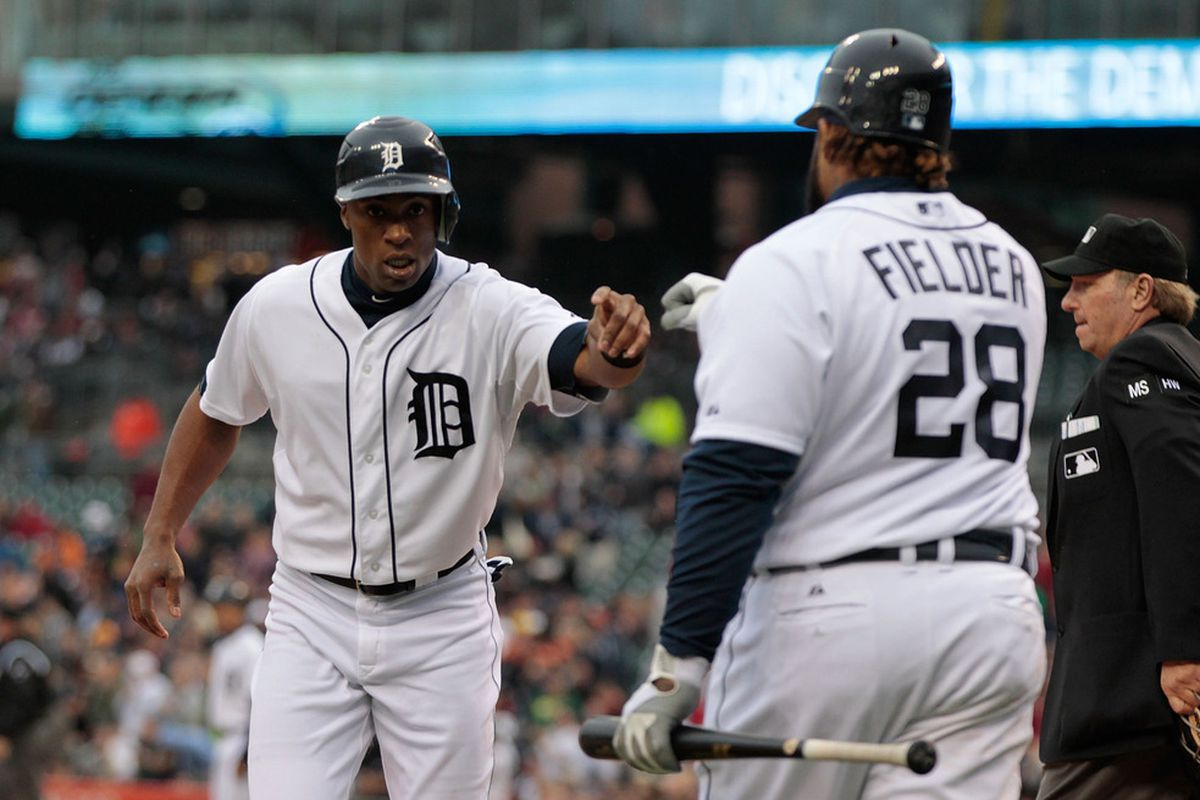 Austin Jackson hits, and good things usually happen. Especially when the defense steps up like Tuesday against the Royals.