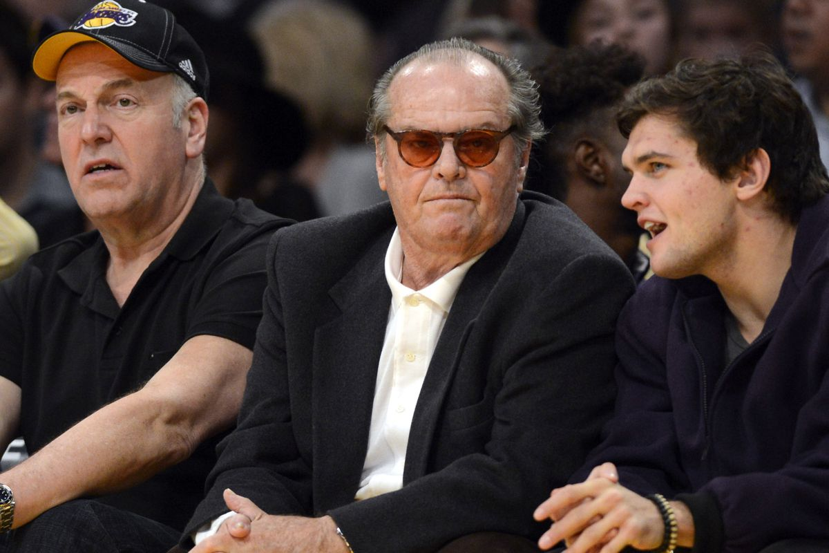 GIF: Jack Nicholson is not amused with the Los Angeles ...