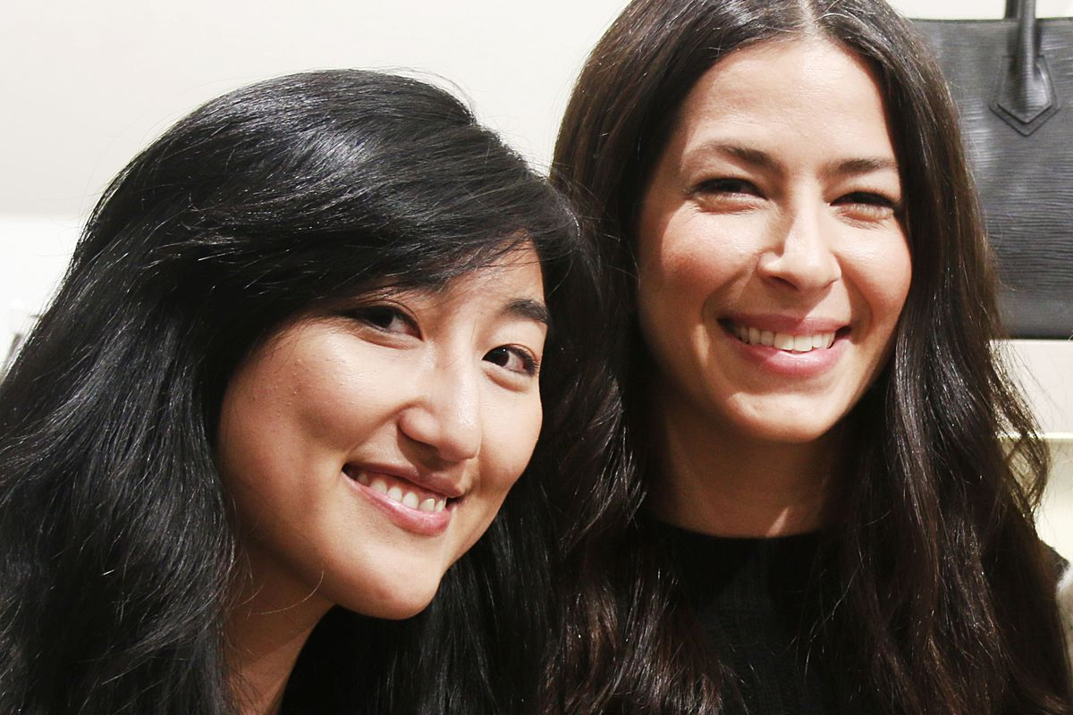 Pictured from left: Jess Lee, Rebecca Minkoff.