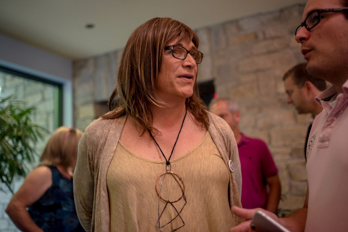 Christine Hallquist, the Democratic candidate for governor of Vermont