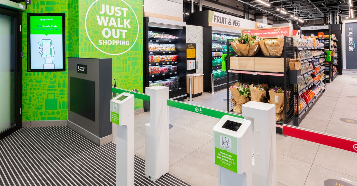 Amazons cashierless tech expands to London with first international store