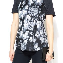 """Rebecca Taylor """"Ghost Flower"""" top, <a href=""""http://www.shoptiques.com/products/ghost-flower-top"""">$265</a>"""