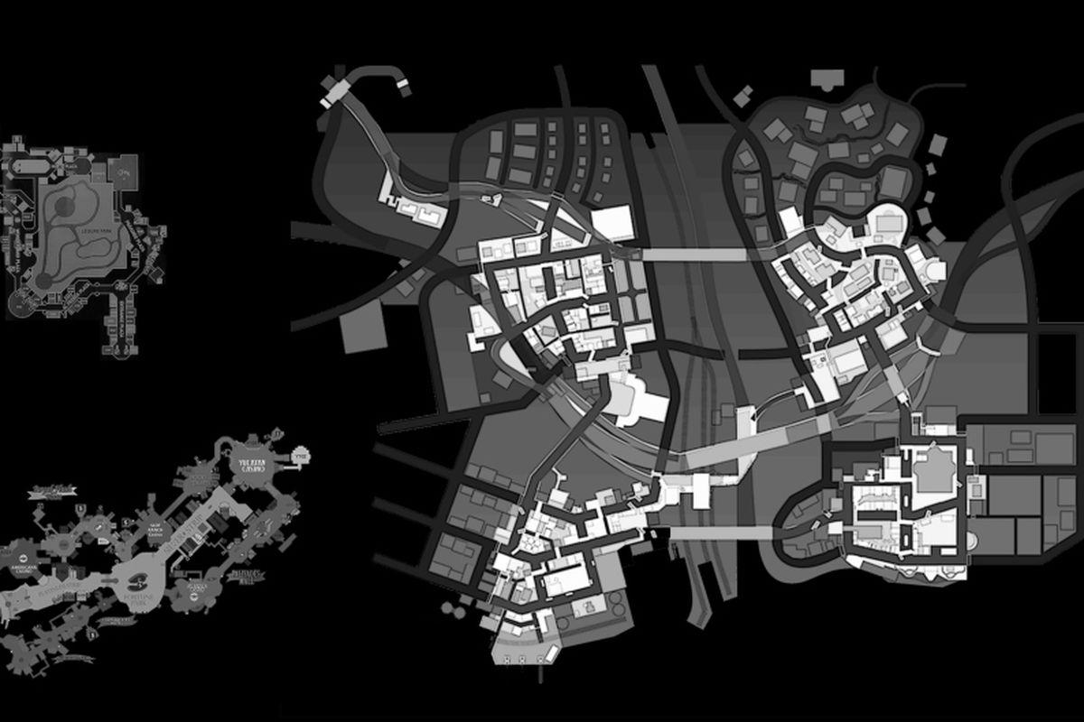 Dead Rising Map on