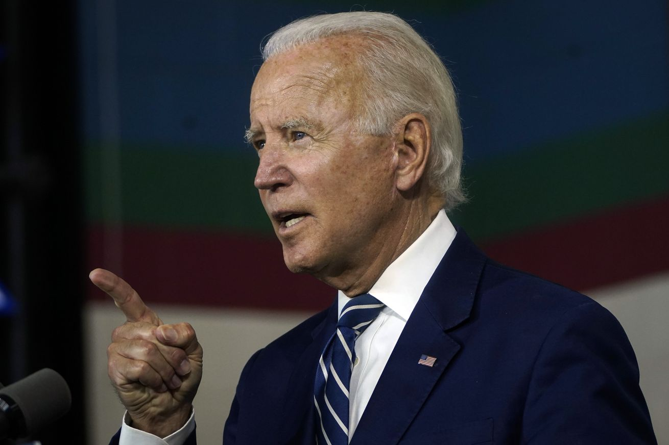 Democratic Presidential Candidate Joe Biden Speaks On His Economic Recovery Plan in Delaware