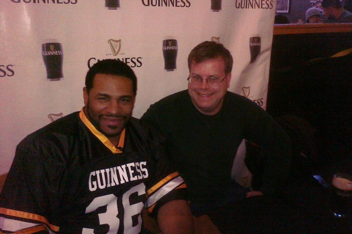 Me and Jerome Bettis