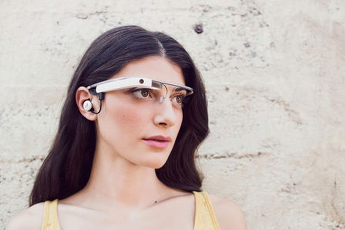 """Image courtesy Google+ and via <a href=""""http://sf.racked.com/archives/2013/10/30/the-new-google-glass-is-still-not-chic.php"""">Racked SF</a>."""