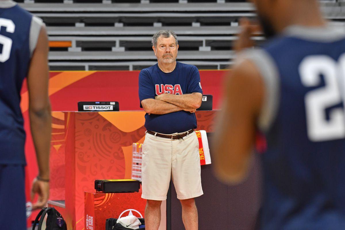 2019 FIBA World Cup - USAB Shootaround