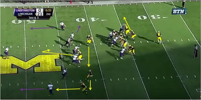 FF - Northwestern - Williams - 13-Yard Hitch - 2