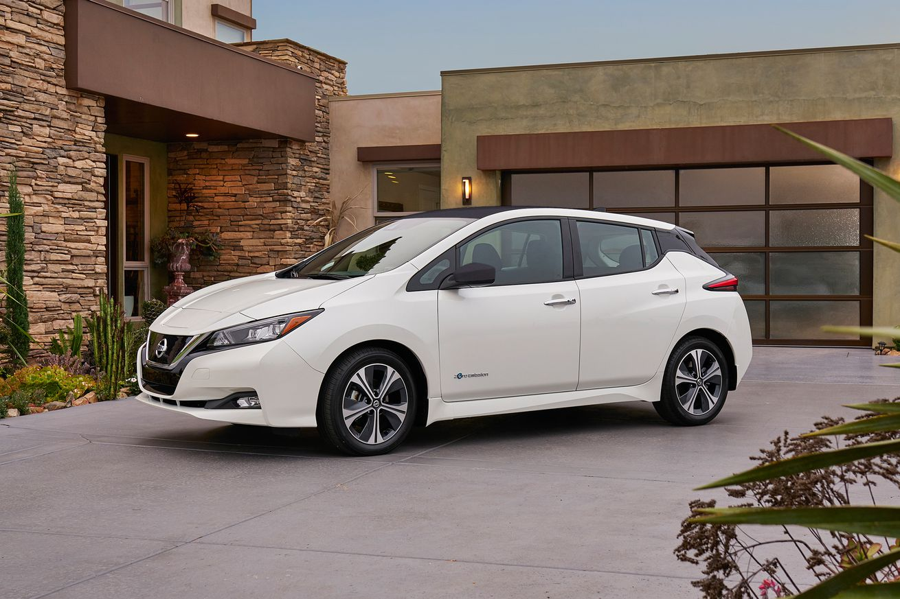 This is the new Nissan Leaf