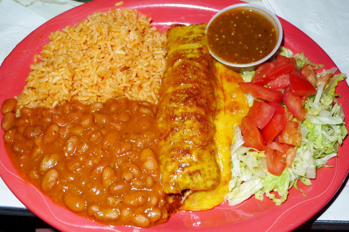 The cheese enchiladas were a highlight of the menu.