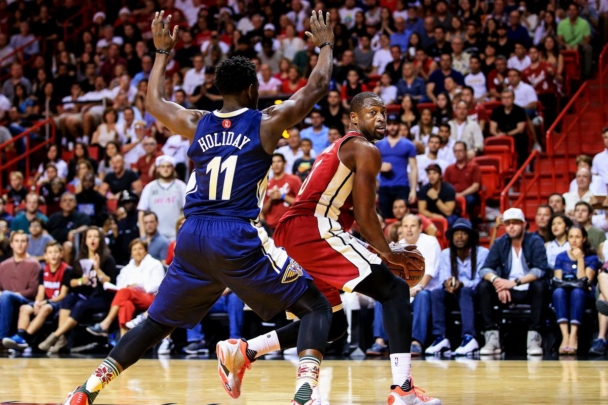 NBA Preview: New Orleans Pelicans welcome Dwyane Wade and Miami Heat