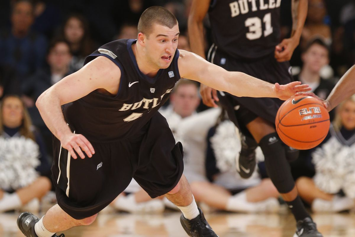 It's hard to pick a picture of Andrew Chrabascz where he's not making a goofy face.