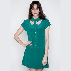 """<strong>Funktional</strong> Software Collar Cut-Out Dress, <a href=""""https://www.shopacrimony.com/products/funktional-software-collar-cut-out-dress"""">$70</a> (was $140) at Acre/SF"""