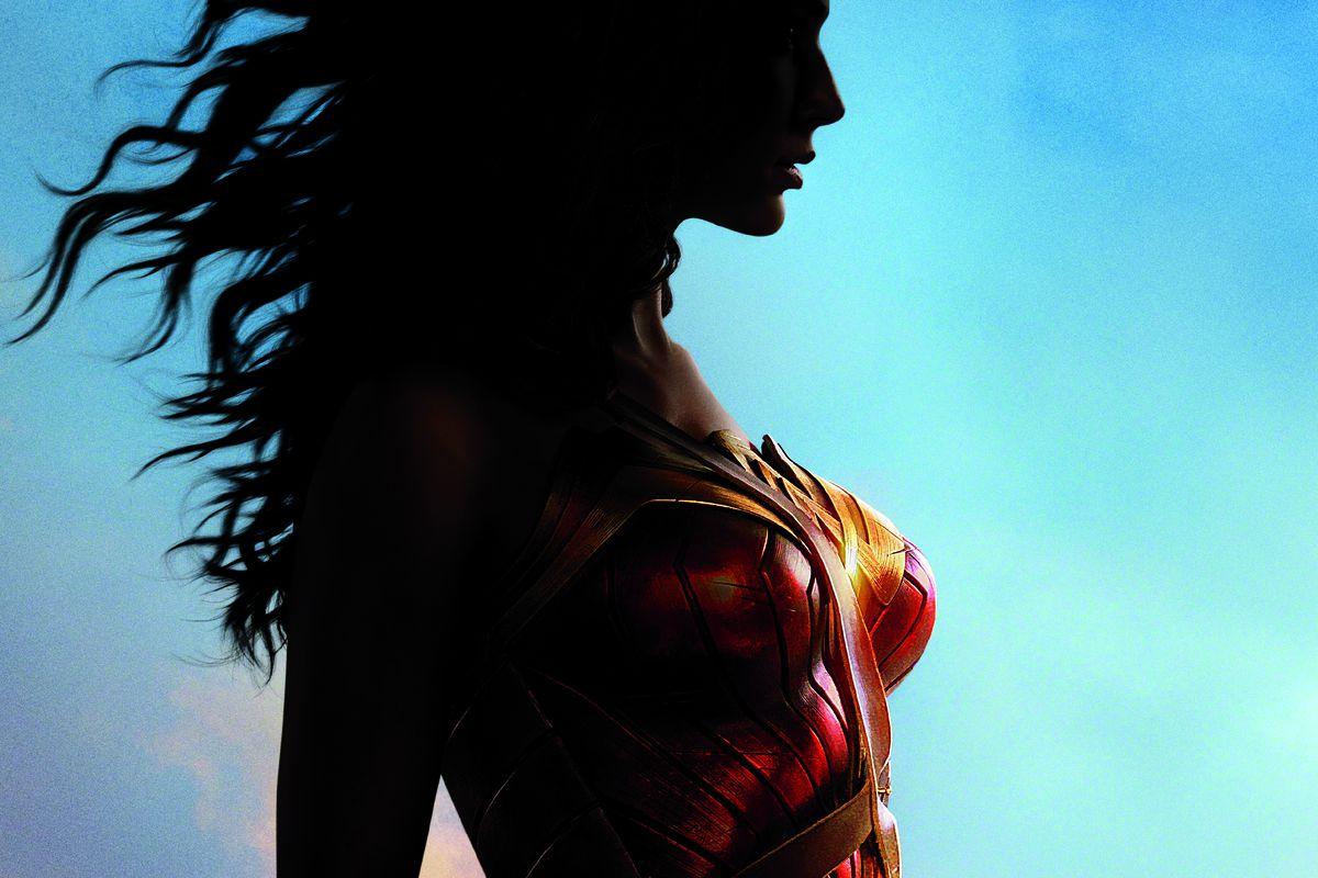 Image result for wonder woman silhouette
