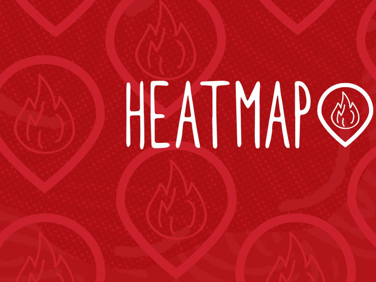 The Eater Heatmap Where To Eat Right Now - Washington dc eater heat map