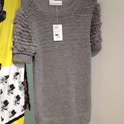 Fall/winter 2011 sweater dress, size M, $80 ($330)