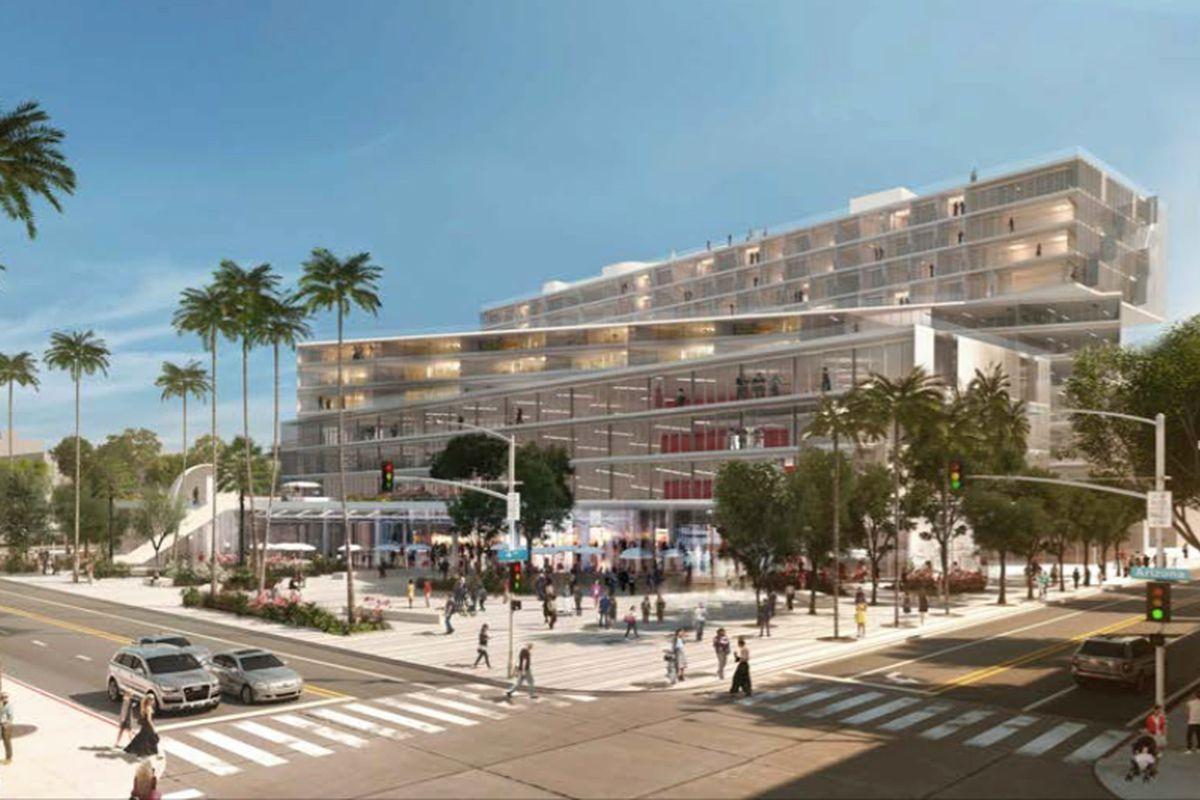Plaza at Santa Monica development trudging forward - Curbed LA