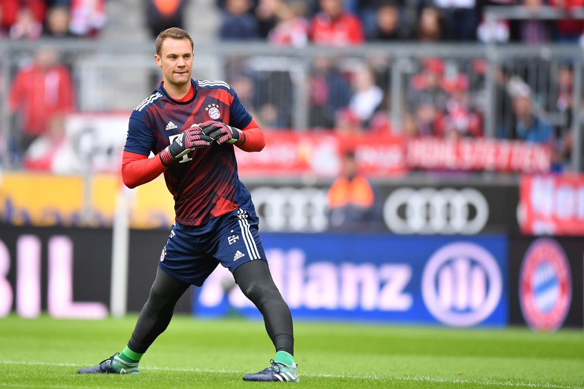 Manuel Neuer has played with a metal plate in his foot for nine