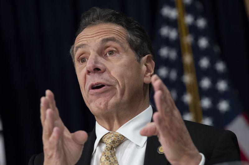 NYC Mayor De Blasio And Governor Cuomo Discuss Amazon 2nd Headquarters Decision