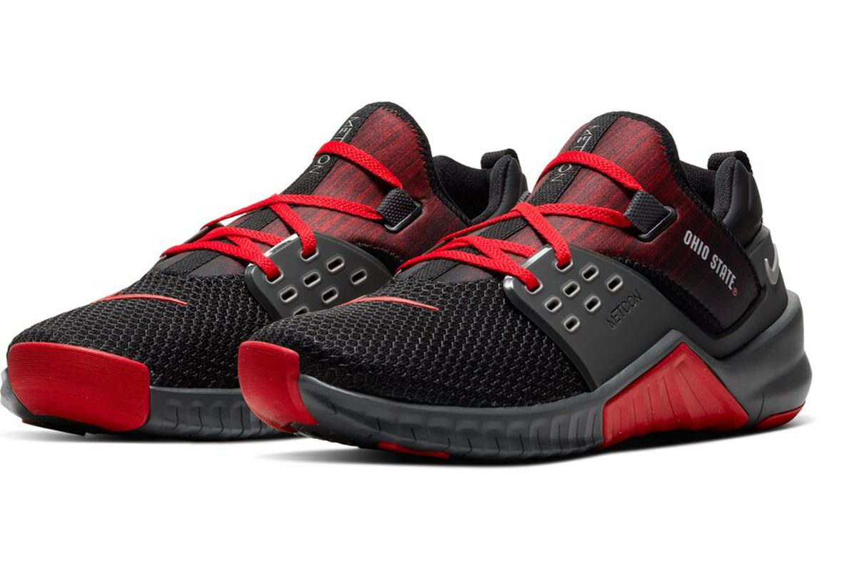 Nike just released their new Ohio State Free Metcon 2 Series