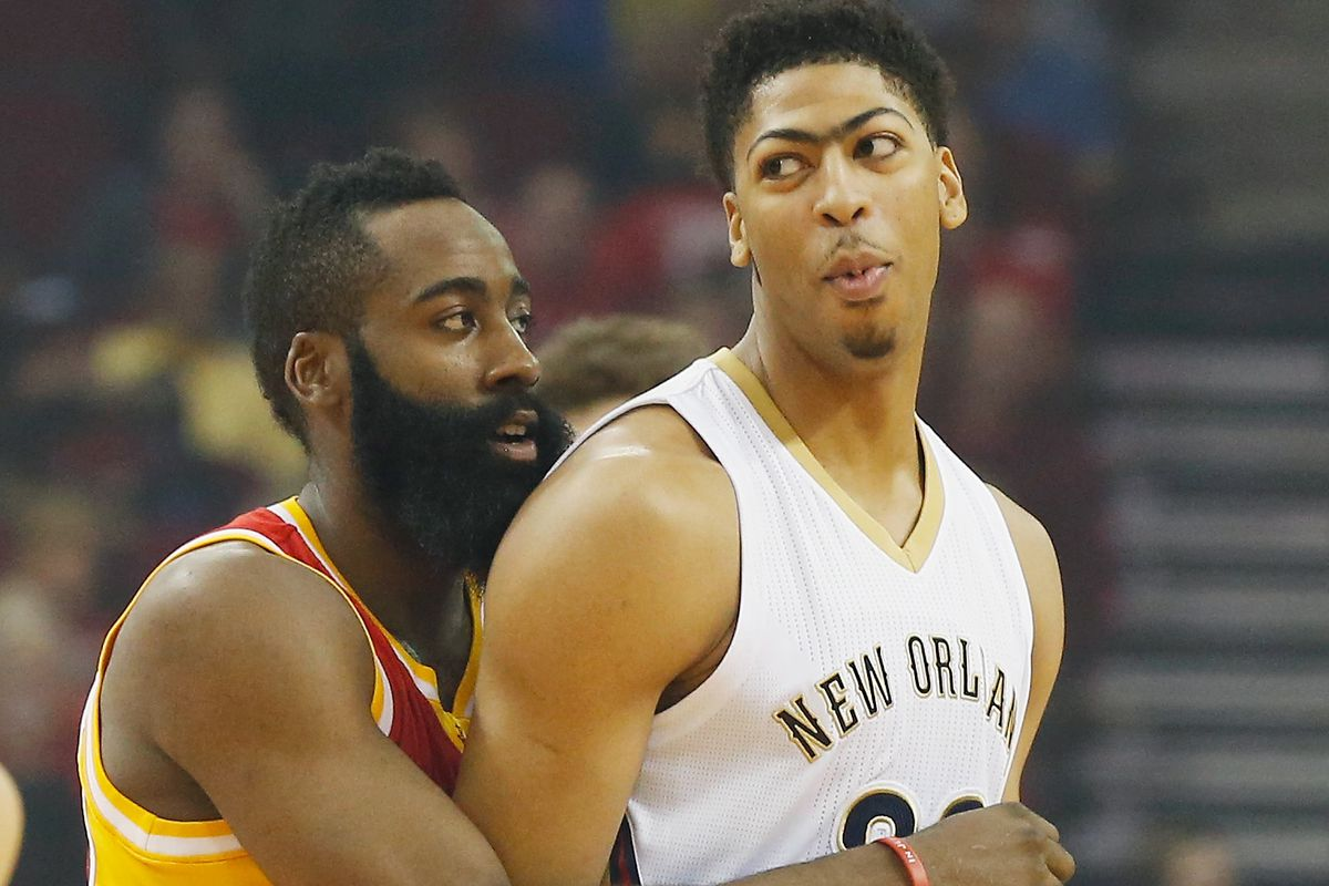 Anthony Davis Plays As The Rockets In Nba 2k The Dream Shake