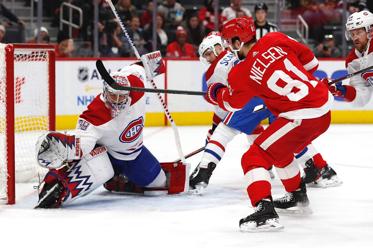 NHL: Montreal Canadiens at Detroit Red Wings