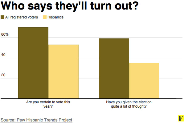 Voter turnout poll