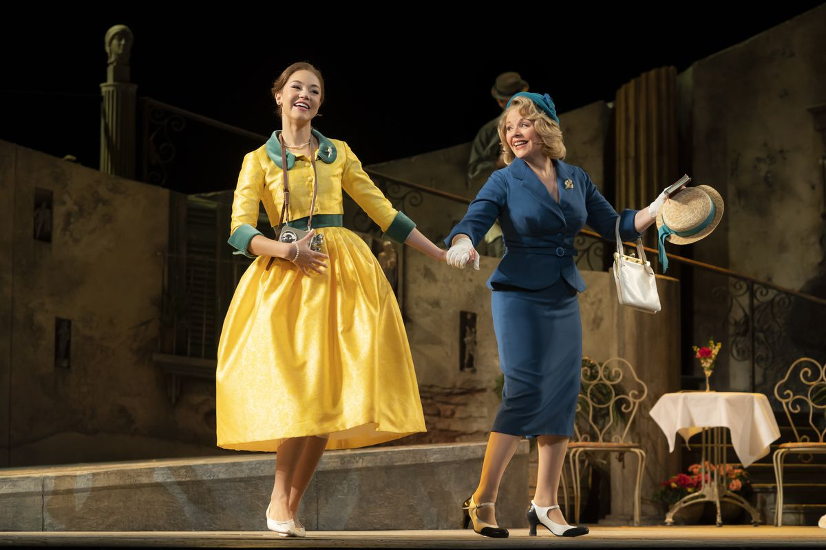 Powerful, poignant Renee Fleming brightens 'The Light in the Piazza'
