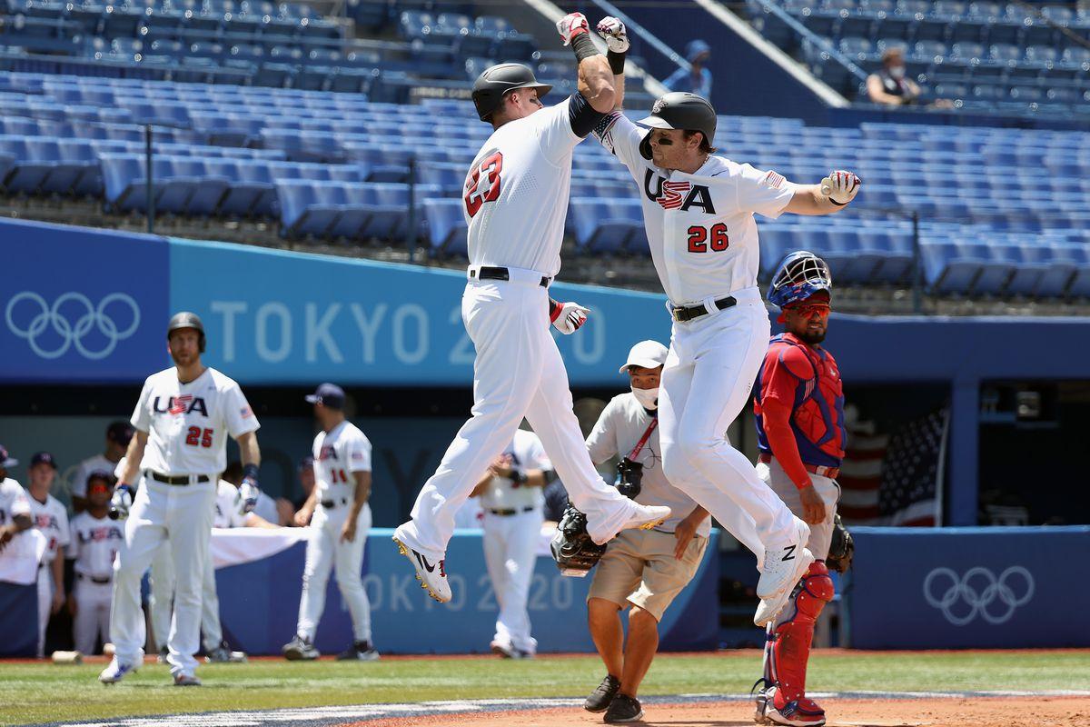 Dominican Republic v United States - Baseball - Olympics: Day 12