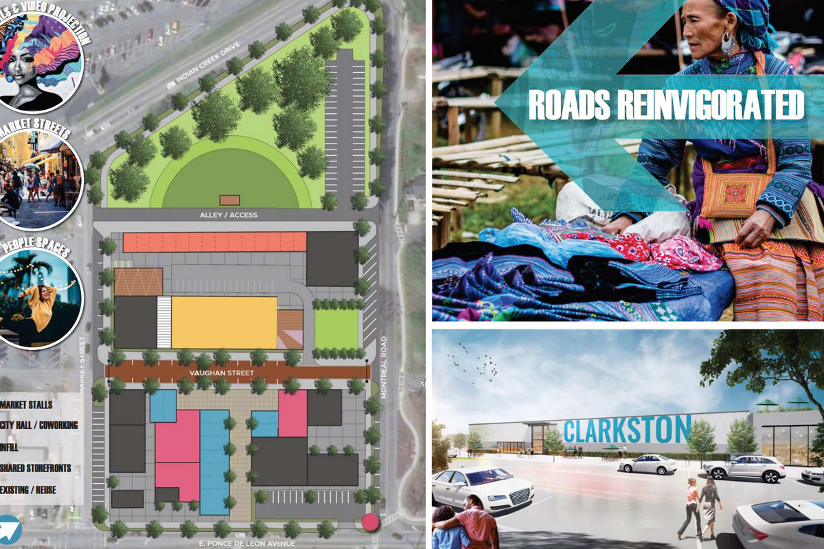 Ideas for a downtown core that Clarkston is lacking.