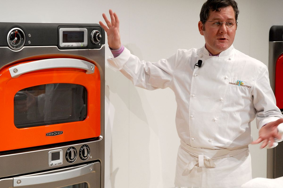 Charlie Trotter in 2007