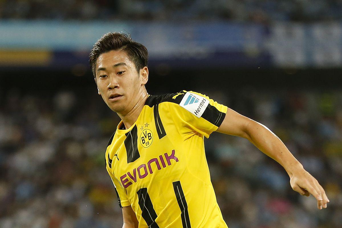 Shinji Kagawa hungry for more Dortmund goals and for success