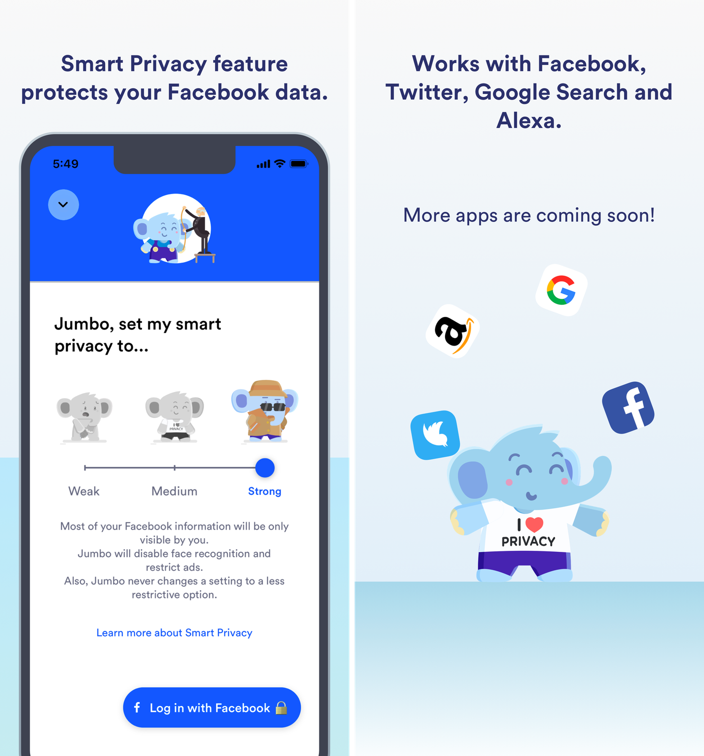Jumbo is a powerful privacy assistant for iOS that cleans up your