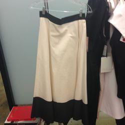 Swing skirt, size 4, $100