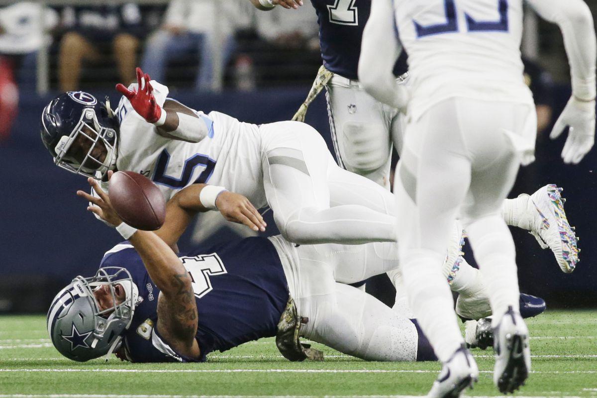 Cowboys news  Dallas hits rock bottom in home loss to Titans ... 6e683aef1