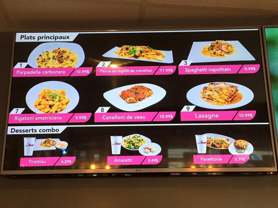 PastApollo's menu