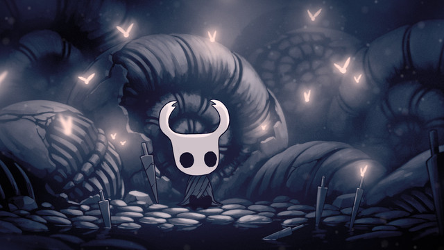 <em>Hollow Knight</em> artwork