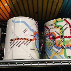 "WMATA Metro map mug, $13.99 at <a href=""http://www.homerule.com"">HomeRule</a>"