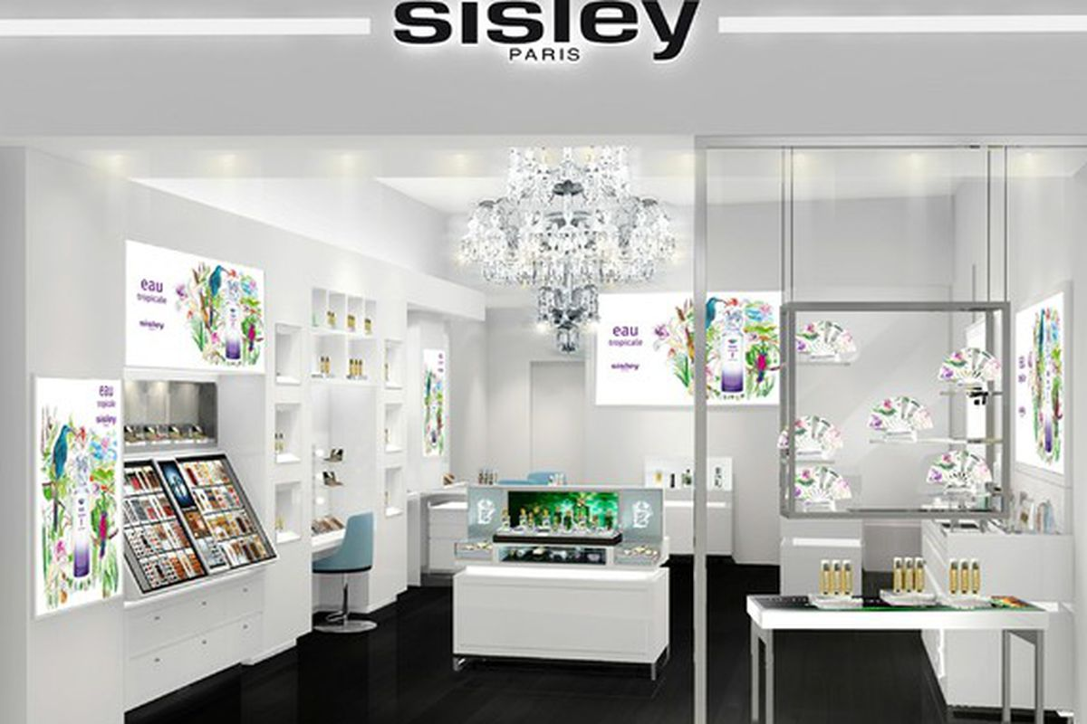 """A rendering of the Las Vegas store, via <a href=""""http://www.wwd.com/beauty-industry-news/retailing/sisley-to-open-first-us-store-7637352"""">WWD</a>"""