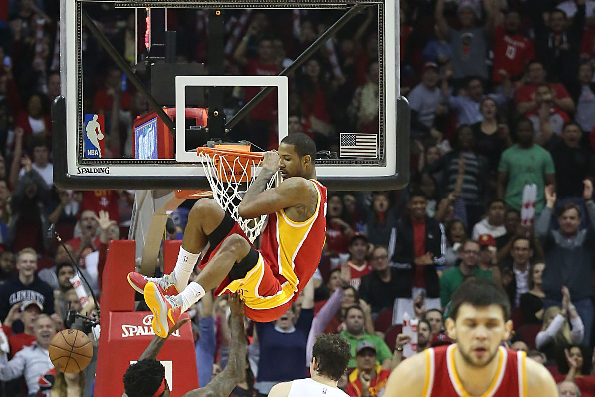 Ariza hoped that hiding on the rim would prevent McHale from playing him for 45 minutes.