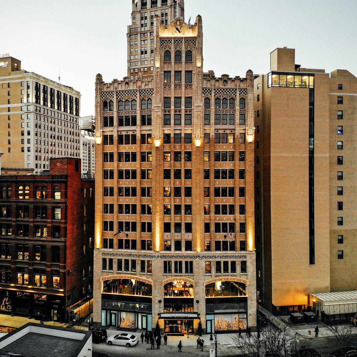 Hotel Neo Melawai Home: The Element Detroit Hotel Opens In Historic Metropolitan