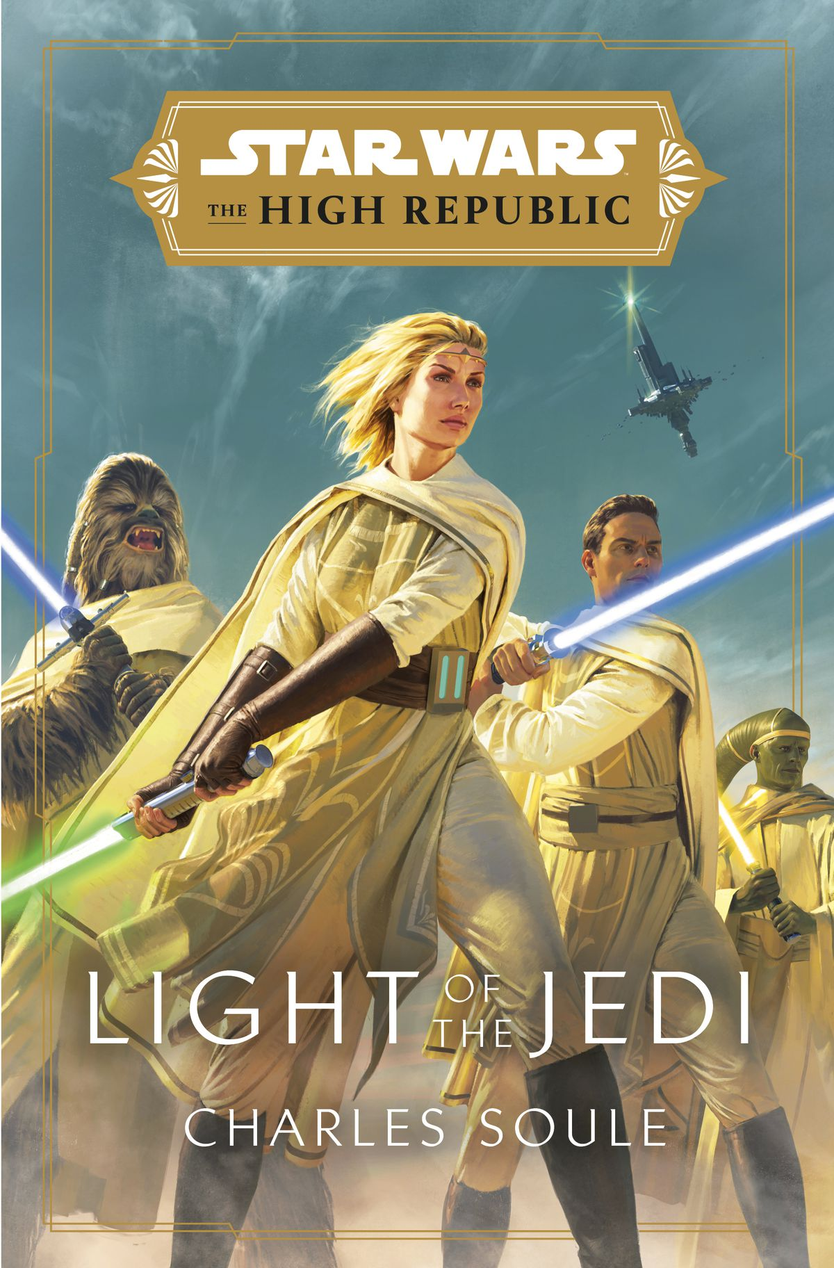 star wars: the high republic: light of the jedi cover by charles soule