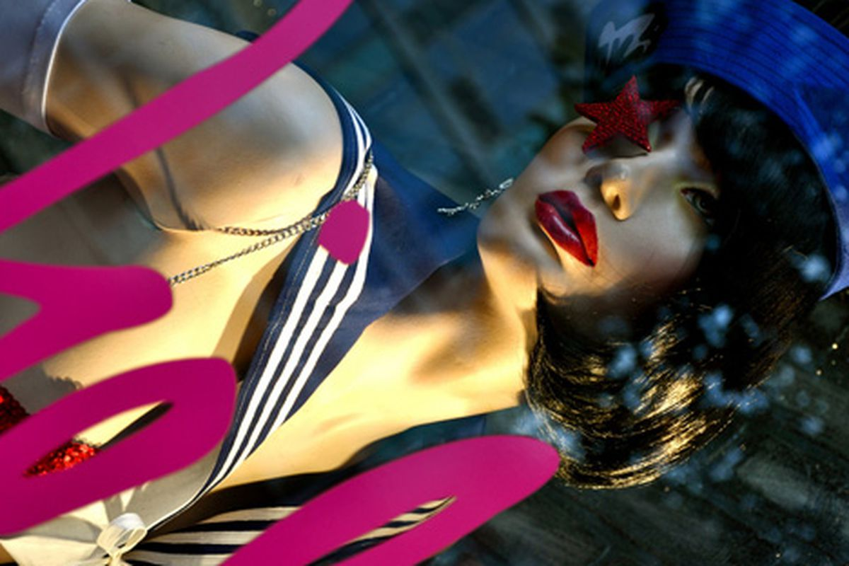 """Saucy sailor mannequin via <a href=""""http://www.flickr.com/photos/essgee/4014339560/in/pool-rackedny/"""">EssG</a>/Racked Flickr Pool"""